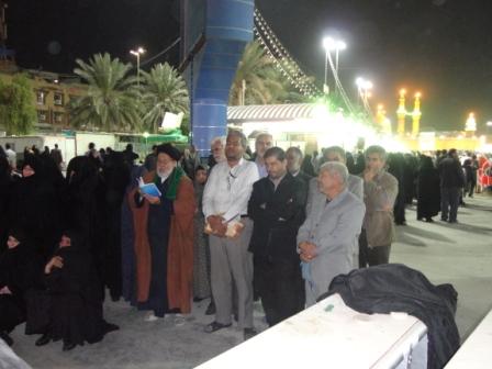 زیارت وداع دربین الحرمین(کربلا27/8/90)